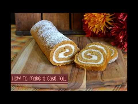 How to Make a Cake Roll: Dessert Recipes