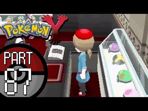 Pokemon X and Y - Part 87: Lumiose City Tour - Exploring All The Different Shops!