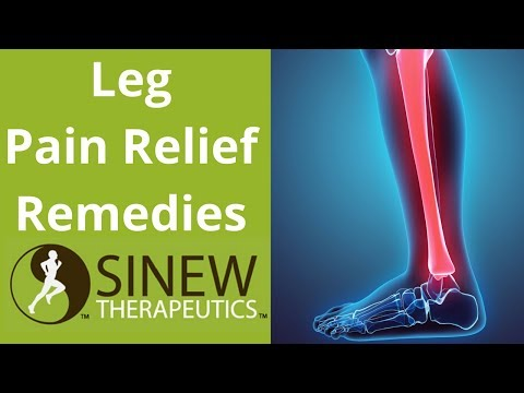 Leg Pain Relief Remedies