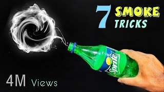 7 Amazing Smoke Experiments At Home || Easy Science Experiments With Smoke