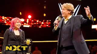 Asuka's NXT contract signing is crashed: WWE NXT, Sept. 23, 2015