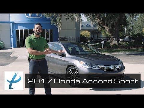 2017 Honda Accord Sport Review - Proctor Honda