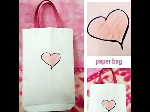 Paper bag tutorial || gift bag