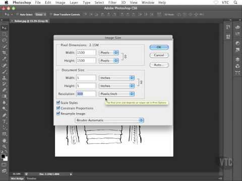 फोटोशॉप का नंबर 1 टूटोरियल  Photoshop tutorials Understanding PPI DPI LPI