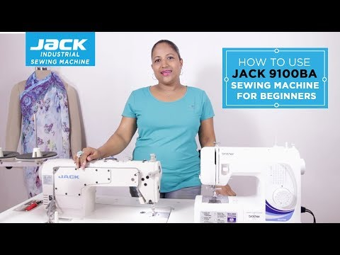 Class 25 - How to use the sewing machine [JACK 9100BA] - for beginners Part 1