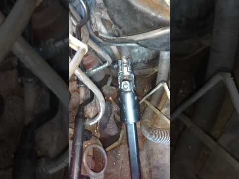 Jeep Steering shaft replacement 4