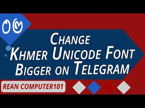 How to change font size on Telegram bigger on windows 7, 8, 10 - rean computer101