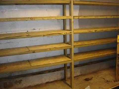 Basement Shelves