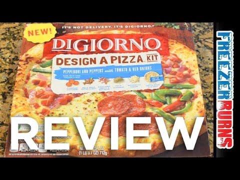 Digiorno Design A Pizza Kit Video Review: Freezerburns (Ep687)