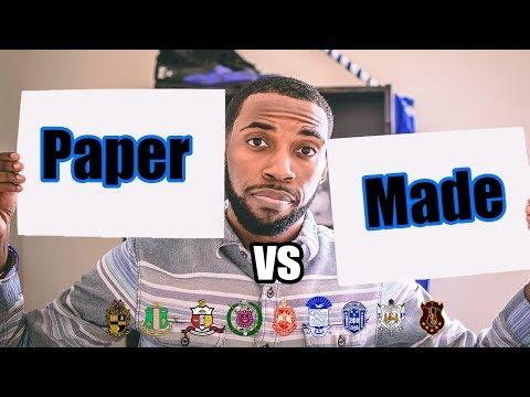 PAPER VS MADE | NPHC ADVICE