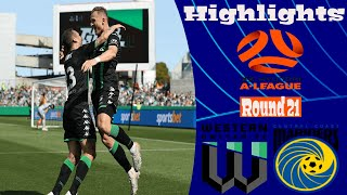 Western United vs Central Coast Mariners 6-2 Highlights All Goals Hyundai A-League 1.03.2020