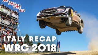 Top 5 highlights from Rally Italy 2018. | WRC 2018