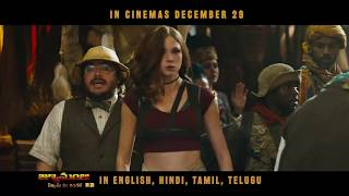 Jumanji: Welcome To The Jungle   Official Telugu Trailer   In Cinemas Dec 29