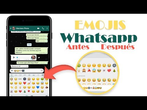 Instalar Antiguos Emojis de Whatsapp 2018
