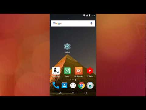 How to change default home screen/launcher in Android 7.0 Nougat