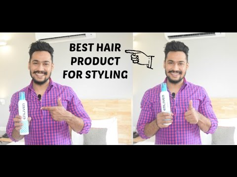 Best hair styling  product in India I Enliven Hair mousse