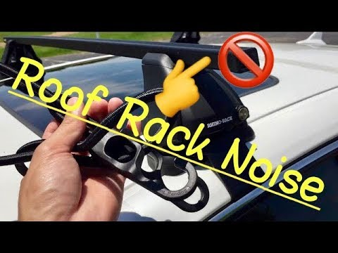 💨 No Rooftop Bar Fairing Needed: Get Rid of Wind Noise Whistling from Roof Rack Crossbar HD Review