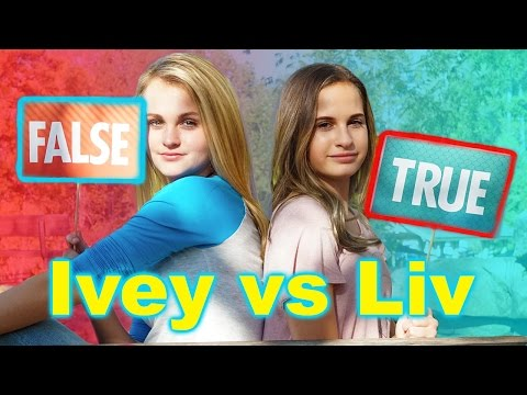 The MattyB Quiz! (Ivey vs Liv)