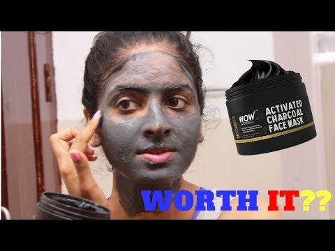 Wow Activated Charcoal Face Mask (Honest Review)