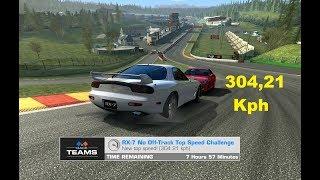 TC Mazda RX-7 Top Speed no off-track 304,21 KPH