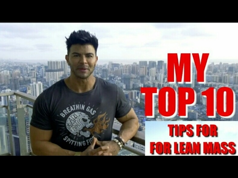 SAHIL KHAN'S TOP 10 TIPS FOR LEAN GAIN IN BUDGET