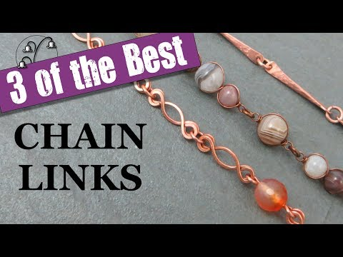 3 Chain Links for Jewellery Making