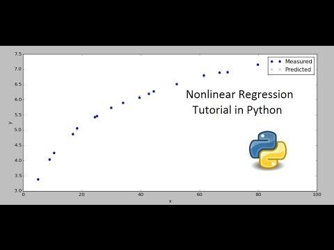 Nonlinear Regression in Python