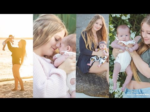 Mommy Daughter Photoshoot | Teen Mom Vlogs