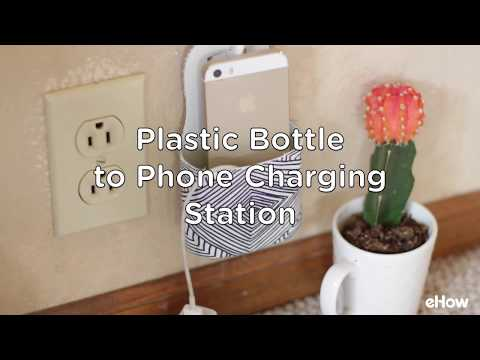 Phone Charging Station DIY (Using a Plastic Bottle)