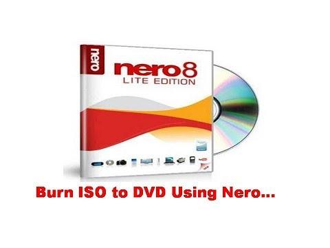 burn iso to DVD | Using Nero 9, 8, 7, 6 Software