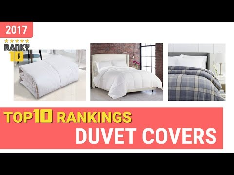 Duvet Covers Top 10 Rankings, Reviews 2017 & Buying Guides