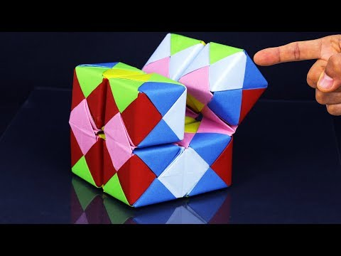How To Make a Paper INFINITY CUBE - Easy Method Step by Step