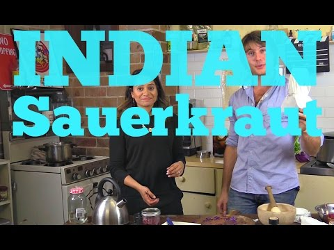 How To Make Indian Sauerkraut