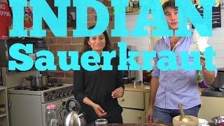 How To Make Indian Sauerkraut