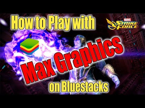 Marvel Strike Force - How to Play with Max Graphics on