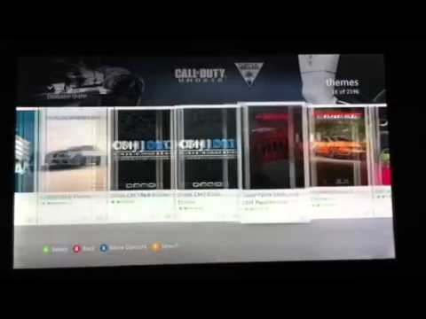 NEW UPDATE How To Change Your Xbox 360 Theme