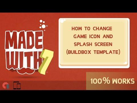 How to change Buildbox Game Template icon and splash screen manually | MW7