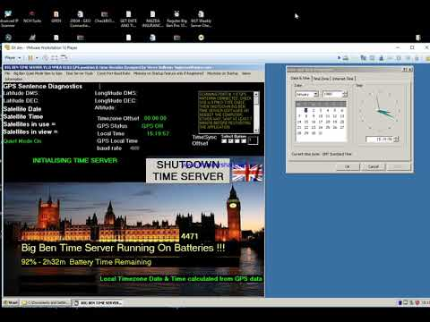 BIOS DATE RECOVERY WITH THE BIG BEN TIME SERVER