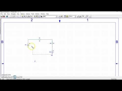 create circuit using pspice