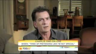 Charlie Sheen Interview Highlights Part 1 Www Keep Tube Com