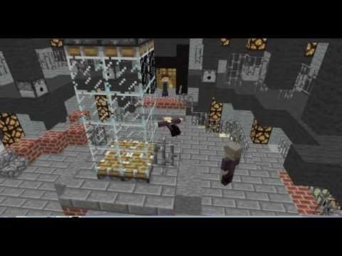 10th Doctor to 12th Doctor regeneration in Minecraft