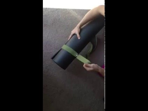 2-in-1 Yoga Mat Sling Tutorial by Kurma Yoga