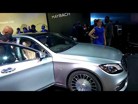 Mercedes-Benz Cars in India Auto Expo 2018