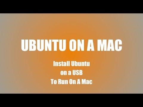 Ubuntu 1404 on a Mac the easy way | From a bootable USB Flash drive created on a Windows Machine