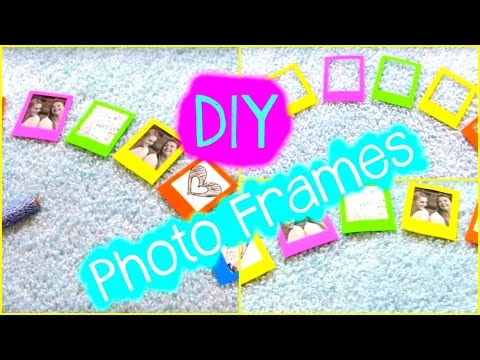DIY Crafts: Photo Frame Ideas & Decorations