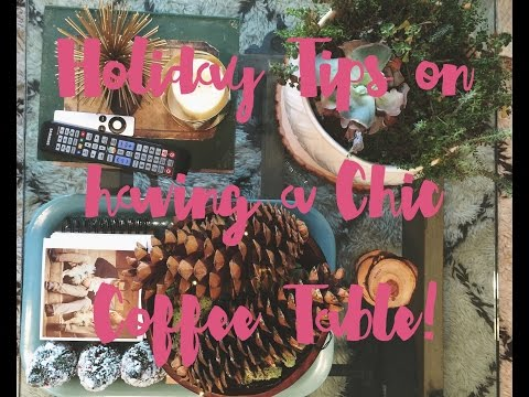 Get a Magazine Glam Holiday/Christmas Table! Tips on How to DIY