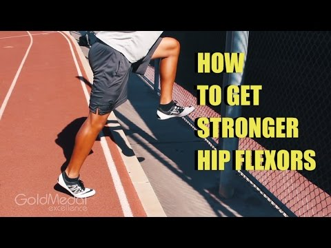 GET STRONGER HIP FLEXORS TO HELP WITH SPEED