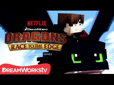 Dragons: Race to the Edge season 2 | MINECRAFT TRAILER