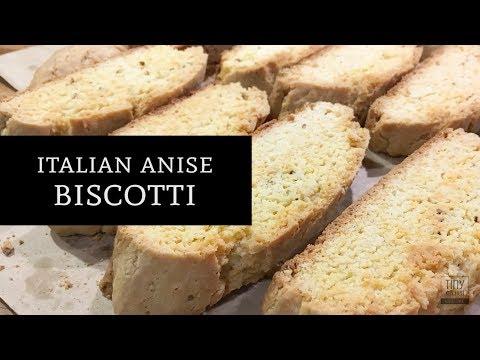 Italian Anise Biscotti