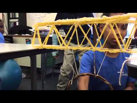 Spaghetti bridges - fourth grade CWSCS